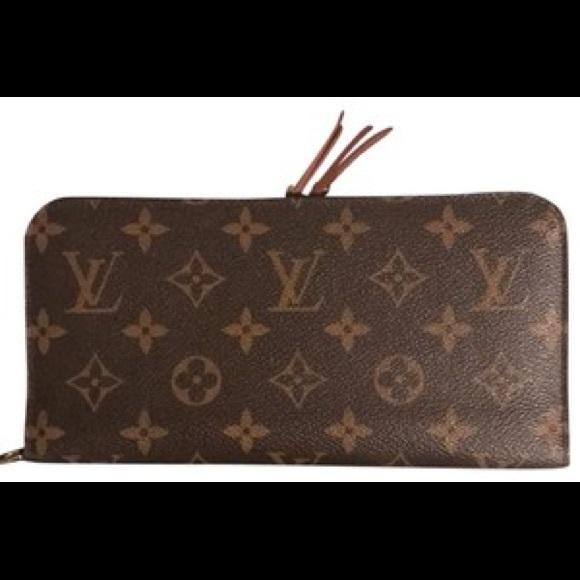 f5b7b635bd45 Louis Vuitton Handbags - Louis Vuitton Monogram Canvas Insolite wallet.